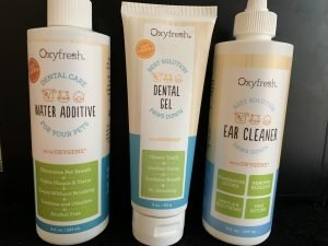 Oxyfresh is pet approved!